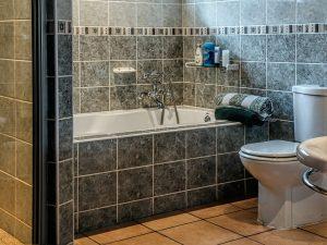 Cementtegels voor de badkamer
